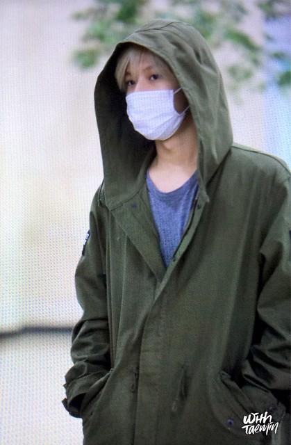 160427 Taemin @ Aeropuerto Gimpo {Llegada a Corea} 26706270846_955b27997a_z