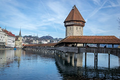 Reflection (/Paola/) Tags: reflection nikon luzern nikkor lucerna kapellbrcke 18105vr d3100