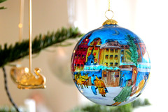 Colorful christmas ball on green christmas tree (frederikkejonsson) Tags: christmas xmas family winter holiday color colors holidays colorful december christmastree christmasdecoration merrychristmas greentree christmasball greennature decembervibes
