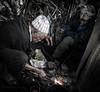 Artisane Black Smith in souks of Marrakesh. (BlindPew) Tags: poverty fire poor smith marocco souk afrika marrakesh blacksmth