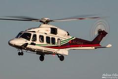 Gulf Helicopters --- AgustaWestland AW-189 --- A7-GAA (Drinu C) Tags: plane aircraft aviation sony dsc mla agustawestland lmml gulfhelicopters hx100v aw189 adrianciliaphotography a7gaa