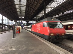 460 057 Basel SBB (daveymills31294) Tags: sbb basel re 057 ffs lok 460 cff