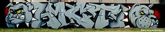 MCT CREW (zack lang) Tags: terrain dog animal graffiti milk tag full crew letter block 93 equipe mct