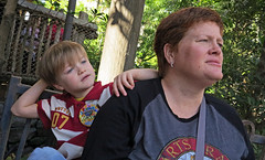 Oh the Waiting in line at Universal Studios theme park (babyfella2007) Tags: park old light boy vacation england jason game building tree sc boys fountain stone carson star robot orlando alley child ride lego florida grant south father cartoon young michelle harry potter son palm hut darth taylor owl saber carolina theme universal wars vader bomb r2 beaufort d2 hagrid keeper diagon gryfindor