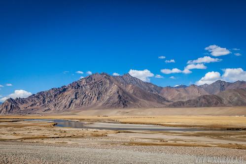 Krajobraz w Pamirze