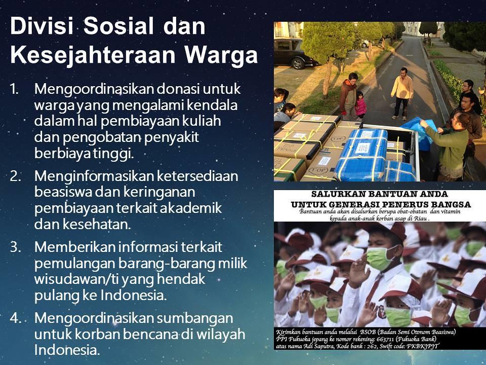 Divisi Sosial dan Kesejahteraan warga