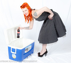 Sure, I'll take one! (Alaskan Dude) Tags: fashion portraits model women photoshoot modeling models danielle pinup photoshoots