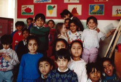Hague Primary School in the classroom (redchillihead) Tags: uk england london smart 1988 traveller warren oe