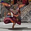 Ladakh - Festival de Leh. (Gilles Daligand) Tags: india festival costume danse capitale leh oiseau ladakh mouvement inde ailes danseur jammuandkashmir exterieur