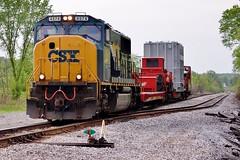 CSX 4574 New Cumberland Siding 526 5/5/12 (Poker2662) Tags: new siding cumberland csx 526 5512 4574