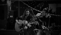 Bekki and Kieran (Nick Vidal-Hall) Tags: gig livemusic openmic theboothhall