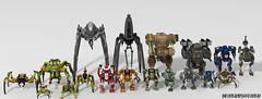 All my mechs and robots 2016 (_bidlopavidlo_) Tags: digital robot war lego designer battle walker mecha droid bot mech povray ldd powerarmour
