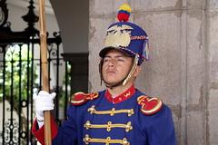 Presidential Palace guard, Quito, Ecuador (alex_7719) Tags: soldier quito ecuador guard presidentialpalace presidenciadelarepblica  palaciodecarondelet carondeletpalace