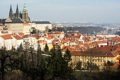 Vista (Kingalew) Tags: castle cityscape czech prague cathedral religion vista