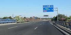 A-66-8 (European Roads) Tags: de la sevilla andaluca spain plata andalusia alto venta santiponce autova a66 gerena algaba