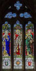 Upton (Notts) Ss Peter & Paul church (Jules & Jenny) Tags: stainedglasswindow nottinghamshire upton notts peterpaulchurch