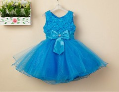 Elegant Blue Kids Frock (elegantfashionwear) Tags: blue kids frock elegant