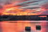 17/365.2016 Sunset on the Colorado (OscarAmos) Tags: sunset reflection water austin landscape downtown texas coloradoriver townlake hdr lightroom 18200mm photomatix tonemapped detailenhancer topazadjust project3652016 nikond7200 oscaramosphotography