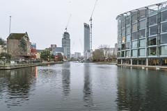 15.18, London (Ti.mo) Tags: england london tower architecture canal construction january property ugly gb islington waterway 25mm f35 2016 iso1000 0ev ••• ¹⁄₁₂₅secatf35 e25mmf2 roseberyavenuesadlerswellsstopul