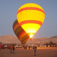 Hot Air Balloon Ride - Luxor (erik_madsen1) Tags: hot history alaska ancient ride air balloon egypt egyptian hotairballoon luxor