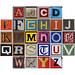 boxed alphabet