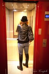 elle167 (Cuir Couple) Tags: leather mistress leder pant pantalon cuero cuir hosen maitresse