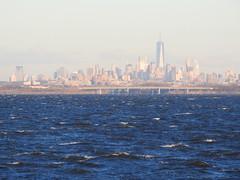 FEBRUARY 13, 2016, LOWER MANHATTAN SKYLINE. (NYMAN2010) Tags: newyorkcity skyline skyscraper queens wtc rockaway oneworldtradecenter threeworldtradecenter