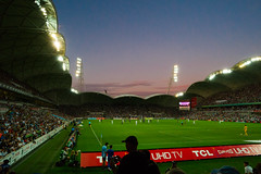 Melbourne City VS Melbourne Victory (tommy kuo) Tags: sport ball football stadium soccer australia melbourne match aleague melbournevictory aamipark melbourneheart