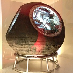 Vostok capsule (Inkysloth) Tags: london industry museum technology space astronaut science cosmos sciencemuseum cosmonaut spacescience