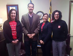 Meeting with Rep. John Sarbanes