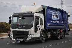 PE64OND (stamper104) Tags: truck volvo bin lorry waste fe refuse scania westons 6wheeler neales t380 alltypesoftransport anykindofvehicles transportintheframe transportoftheworld worldtrucks