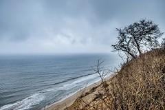 (Desi C) Tags: ocean winter cliff abandoned capecod north newengland explore shore cape airforce cod southshore airforcebase winterocean