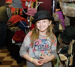 Little Girl in a Bowler