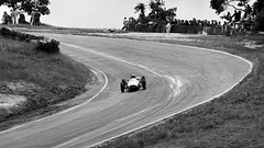 SCCA Formula Junior - Laguna Seca 1964 - #2 (bdrameyphotography) Tags: california bw film monterey autoracing lagunaseca openwheelracing epson850scanner kodak120plusx montereypacificgrandprix1964