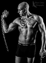 Fitness Model Josh (Shawn Collins Photography) Tags: shirtless sexy male tattoo model masculine muscle muscular chest handsome superhero bodybuilder fitness abs built shredded fit malemodel
