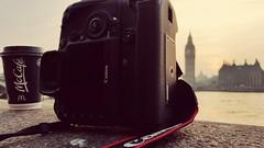 Coffee. Camera. Clock. (katesherbourne) Tags: camera sunset london clock coffee bigben macdonalds