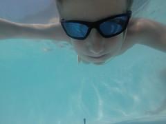 Barra da Ibiraquera SC (Mercedesdiaz) Tags: kid niño anteojos underthewater bajoelagua gopro