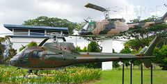 Huey and Squirrel (210) duo (eLaReF) Tags: museum squirrel singapore force duo air huey paya fennec saf iroquois uh1 lebar