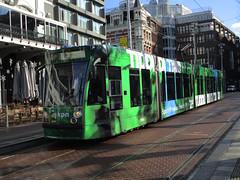 GVBA tram 2091 Amsterdam Rembrandtplein KPN (Arthur-A) Tags: netherlands amsterdam nederland tram kpn streetcar tramway telecom strassenbahn electrico tranvia gvb combino tramvia gvba