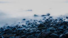 Stone Beachside (JamieMarie Oaksford) Tags: longexposure bali seascape landscape seaside nikon rocks slow stones oceanside slowmotion slowshutterspeed beachside tulamben d7000
