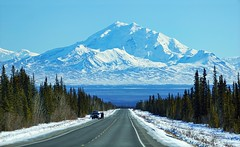 Tourists! - Alaska (JLS Photography - Alaska) Tags: road mountain mountains alaska america landscape landscapes spring outdoor hill ridge mountainside mountainpeaks mountainridge wrangellmountains mountainpeak lastfrontier mountdrum alaskalandscape jlsphotographyalaska