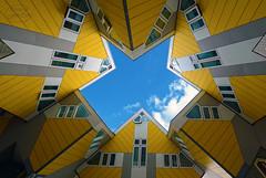 Rotterdam Cube Houses (MaiGoede) Tags: holland netherlands architecture rotterdam nikon architektur niederlande cubehouses kubushäuser rheinkreuzfahrt rotterdamcubehouses