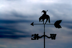 Any Way the Wind Blows (Danny Shrode) Tags: horse silhouette clouds wind outdoor indian arrow weathervane directional