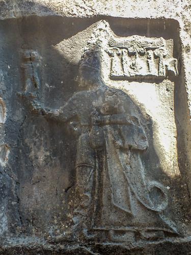 The God Sarruma Embracing Tudhaliya IV