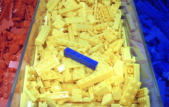 Colour Clash (Tony Worrall) Tags: blue red color brick yellow kids square toys rainbow colours many bricks group shades clash full collection buy colourful items hue connection connect leggo clashing bricked