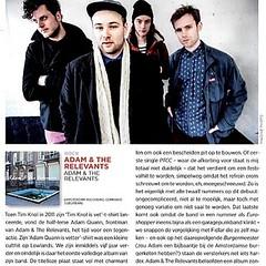 de rammelrecensie in @oor.nl #garagepunk #adamquannisvetter #bestnewmusic