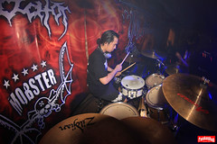 Hellhound (iMusicLens) Tags: music metal canon indonesia landscape death malang hellhound stagephotography eastjava musicography