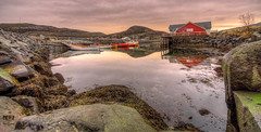 -Roan in colors- (Erik_Chavez) Tags: seascape reflection colors norway boat norge rocks sony silence fishingboat tamron hdr roan visitnorway