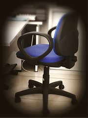 Nobody (cor20131) Tags: work fix office chair ombre ufficio sedia interni iphone spazi