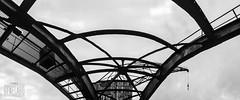 crane (genelabo) Tags: bw panorama berlin port stitch harbour crane stitching sw hafen spree kran industrie westhafen iphone wecc